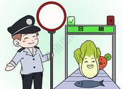 食品安全漫画图片
