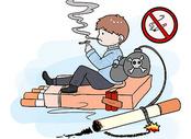 世界无烟日漫画400172636图片