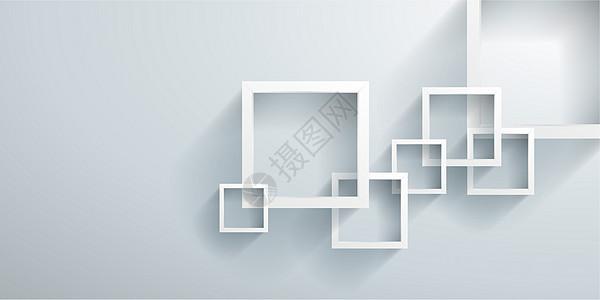 立方体商业背景图片