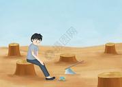 防治荒漠化图片