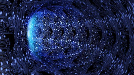 线路黑洞背景图片