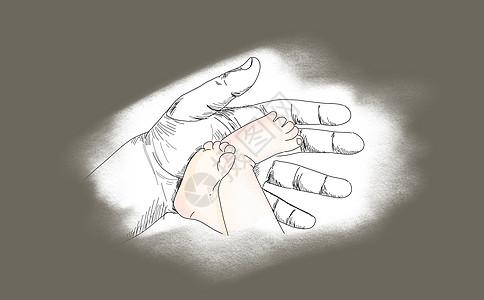 父亲的手图片