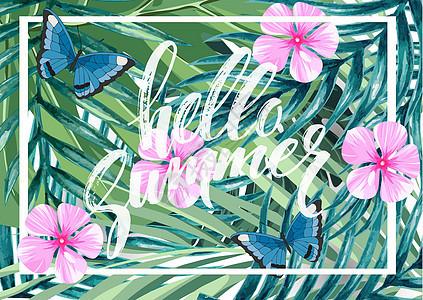 绿植花卉背景图片