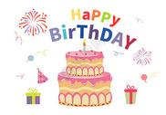 生日卡片图片
