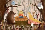 森林动物大聚会图片
