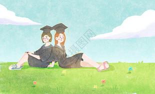 校园毕业季图片