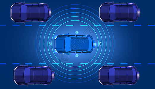 自动驾驶场景图片