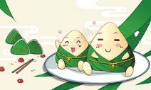 端午可爱粽子图片