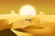 沙漠旅行图片