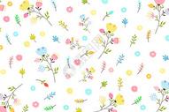简约花卉背景图片