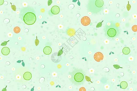 小清新柠檬汽水图片