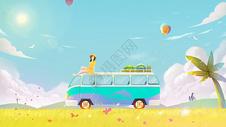 夏季旅行游记图片