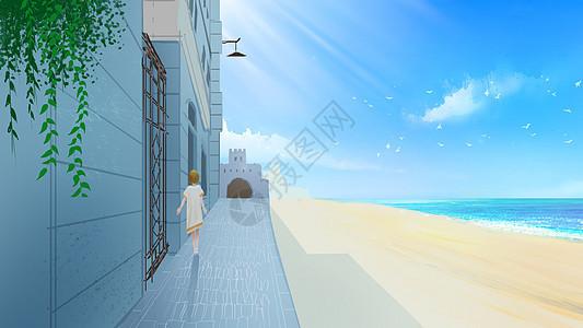 海边的风景图片