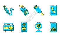 电子产品图标图片