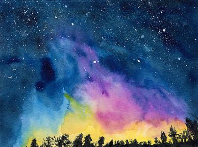 美丽的夜空picture