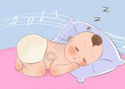 宝宝睡觉图片