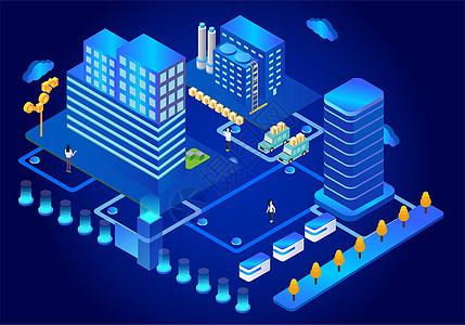 科技城市智能生活图片