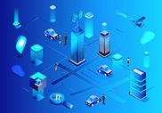 科技城市商务办公图片