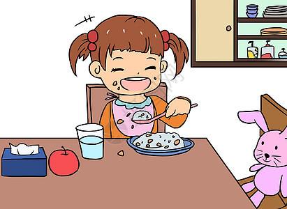 婴幼儿漫画图片