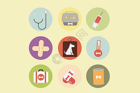 宠物医疗图标图片