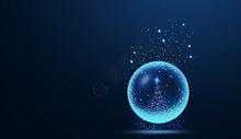 创意水晶球图片