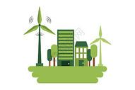 绿色城市环境保护图片