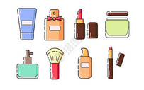 化妆品MBE图标图片