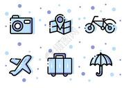 旅游类图标图片