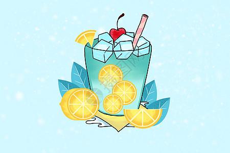夏日饮品高清图片