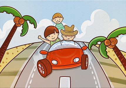 家庭自驾游图片
