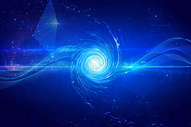 炫彩螺旋花纹背景图片