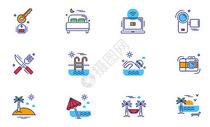 旅游度假图标icon图片