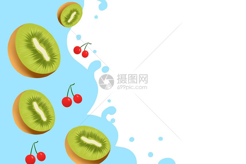 夏季清凉水果图片