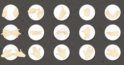 手指谣动作图片
