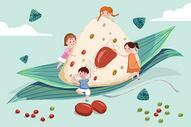 端午节卡通粽子图片