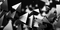 创意空间抽象背景图片