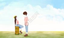 情侣旅游图片