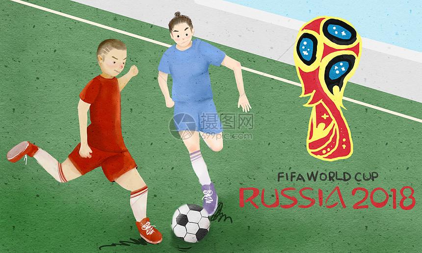 世界杯足球赛图片