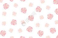 简约玫瑰花卉背景图片