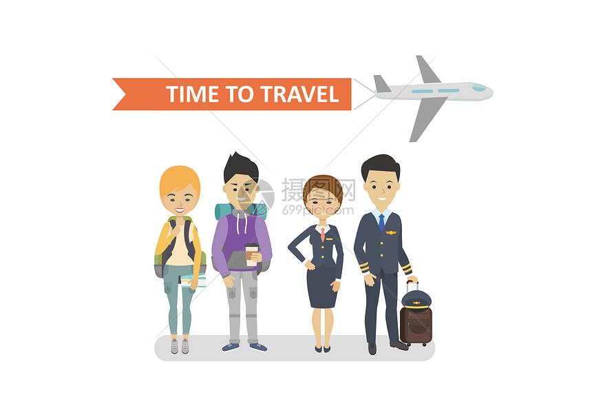 旅游形象图片