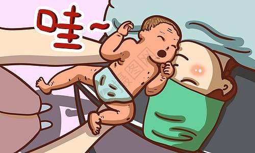 婴儿出生图片