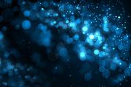 蓝色梦幻光晕背景图片