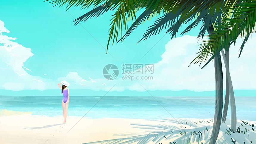 清新夏日图片