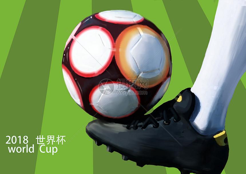 世界杯足球摄影图片