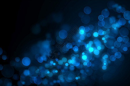 蓝色梦幻背景图片