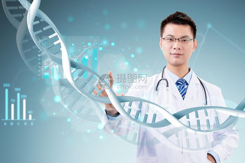 医疗分子研究图片