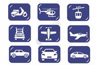 交通运输类图标图片