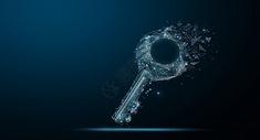 解锁钥匙背景图片