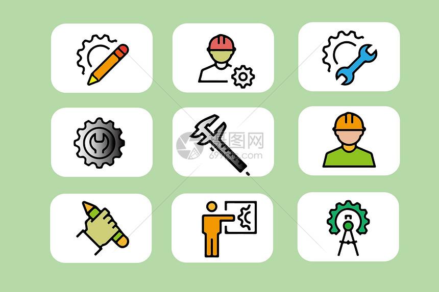 制造工业类图标图片