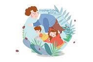 父亲节之童年百科图片